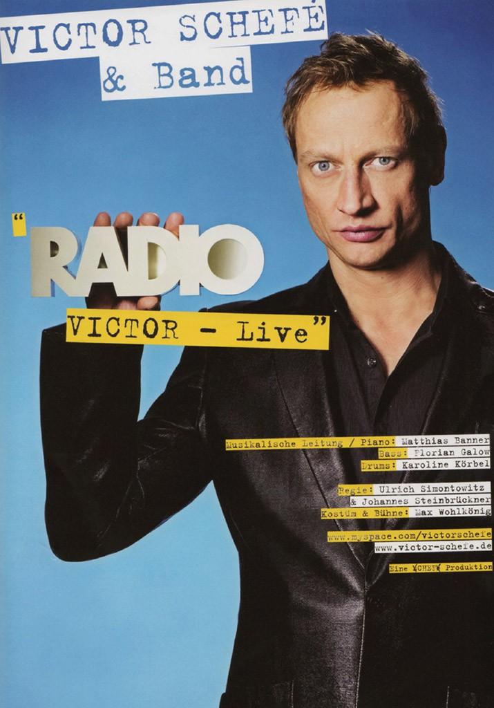 Radio Victor - Live - Poster © Catrin Schmitt
